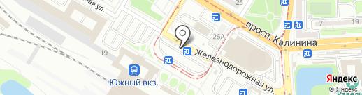 Кафе быстрого питания на карте Калининграда