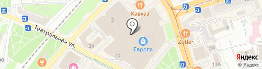 Золотая Кузница на карте Калининграда