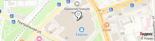 Calvin Klein Jeans на карте Калининграда