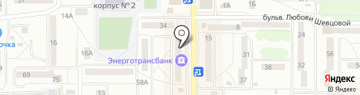 КБ ЭНЕРГОТРАНСБАНК на карте Калининграда