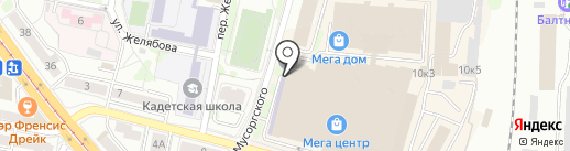 Tema на карте Калининграда
