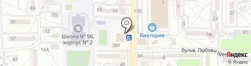 Резерв Ломбард на карте Калининграда