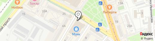 Ego Lady на карте Калининграда