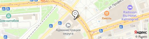 Контрольно-счётная палата городского округа на карте Калининграда