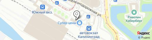 Кадастровое дело на карте Калининграда