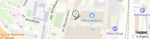 ТПС-Транс на карте Калининграда