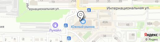 Самолет на карте Калининграда