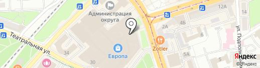 Frozen Fellows на карте Калининграда