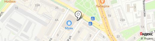 OnLook на карте Калининграда