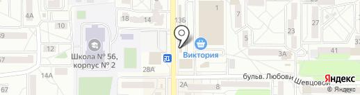 Айкрафт Оптика на карте Калининграда