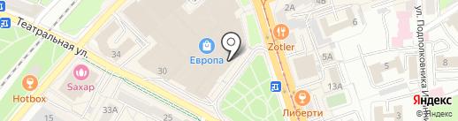 VENEZIA на карте Калининграда