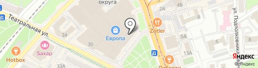 DYGYBEEX на карте Калининграда