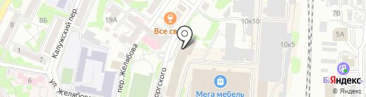 Про-Сервис на карте Калининграда