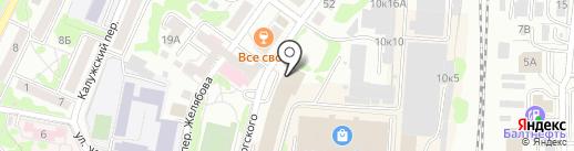 Техинвест-Сервис на карте Калининграда