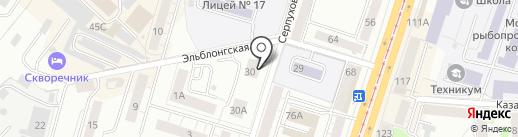 Жалюзи39 на карте Калининграда