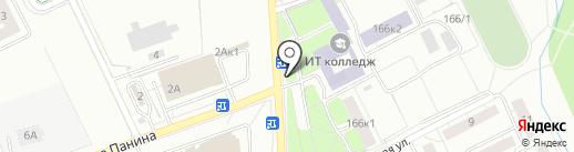 Тортино на карте Калининграда