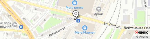 МК-групп на карте Калининграда