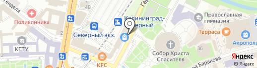 Le Kashemir на карте Калининграда