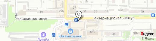 Табакерка на карте Калининграда