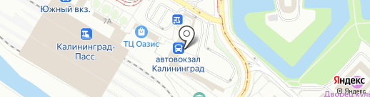 Формула любви на карте Калининграда