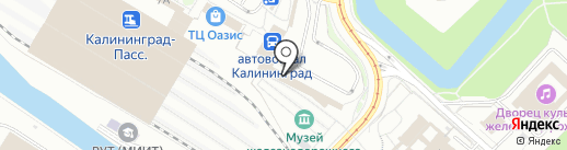 КёнигАвто на карте Калининграда