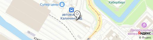Pizza Light на карте Калининграда