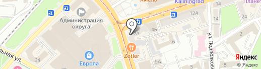 Суперцены на карте Калининграда