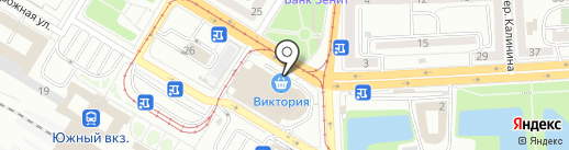 InРost на карте Калининграда