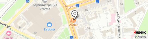 ЦЕНТР ЗАЙМОВ на карте Калининграда