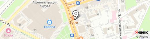Ваш Ломбард на карте Калининграда