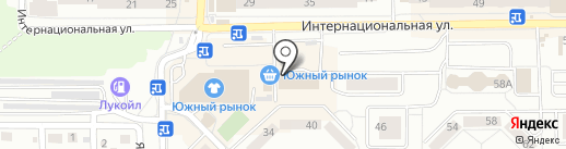 Магазин косметики и парфюмерии на карте Калининграда