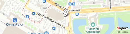 Lauma на карте Калининграда