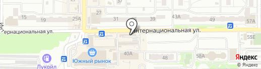 Золотая рыбка на карте Калининграда