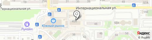 Рыбалка на карте Калининграда