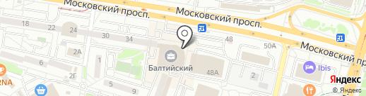 Точка вкуса на карте Калининграда
