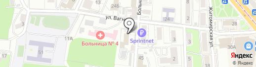 Бюро земельных отношений на карте Калининграда