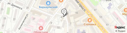 ЕТАЙП ПЛЮС на карте Калининграда