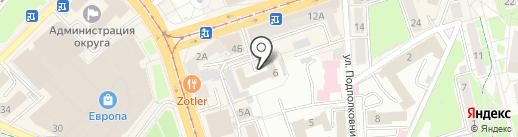 Amberman на карте Калининграда