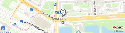 Рулончик на карте Калининграда