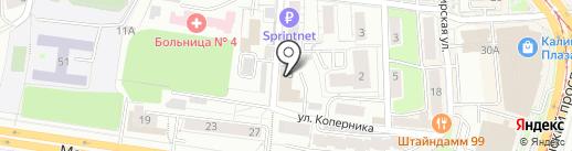 Эмоция на карте Калининграда
