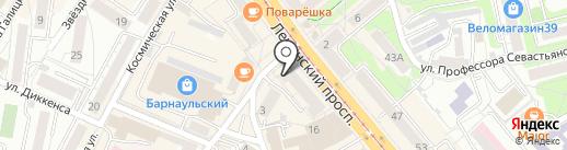 Кофейня на карте Калининграда
