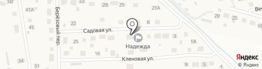 Надежда на карте Дорожного