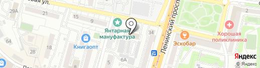 Балт Декор на карте Калининграда