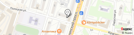 Лидер на карте Калининграда