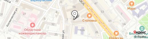 Лига Ставок на карте Калининграда