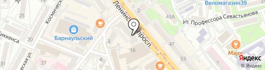 Мастерская по ремонту часов на карте Калининграда