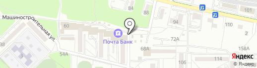 Еврохлеб на карте Калининграда