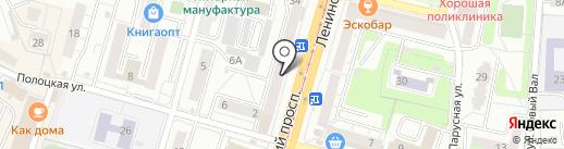 Русский ювелирный дом на карте Калининграда