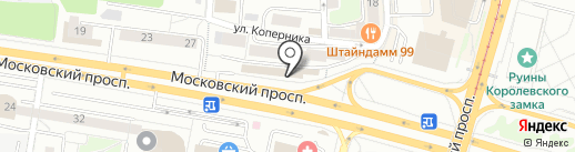Estel Kaliningrad Studio на карте Калининграда