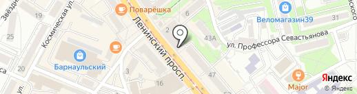 FastMoney на карте Калининграда